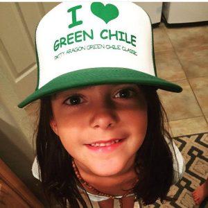 I Love Green Chile Trucker - 2015