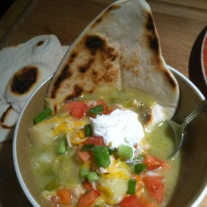 My version Wolf Creek Ski Area Green Chile Stew
